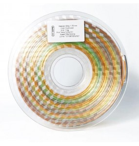 Filament silk multicolore