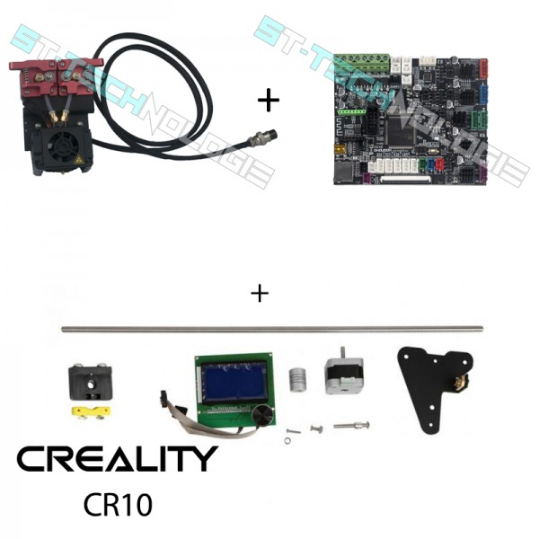 Kit complet SILENCIEUX dual extruder Creality CR10