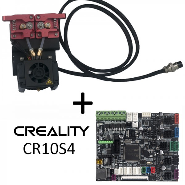 Kit complet SILENCIEUX Dual extruder Creality CR10S4