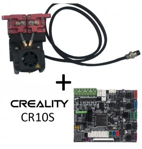 Kit complet SILENCIEUX dual extruder Creality CR10S